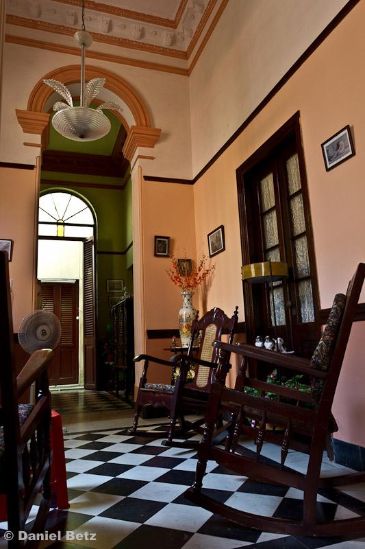 Sehr schönes Haus aus den 30er Jahren, hier habe ich meinen Sprachunterricht
