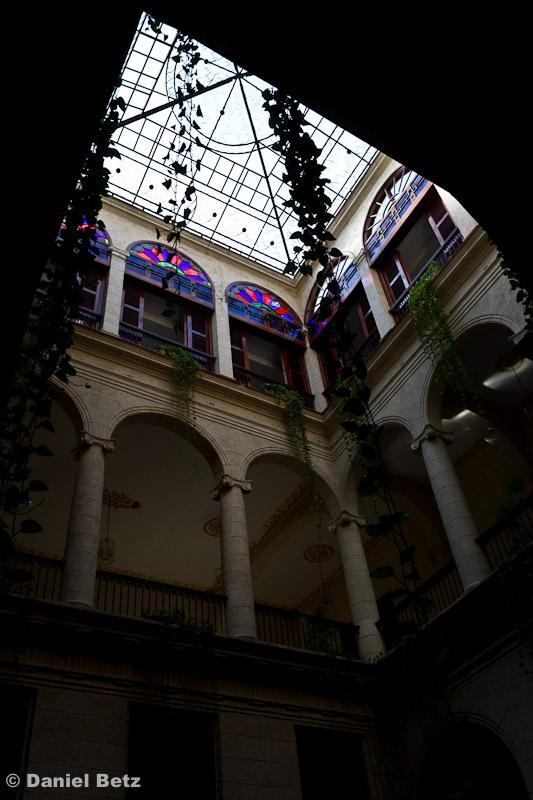 Einer der vielen traumhaften Innenhöfe