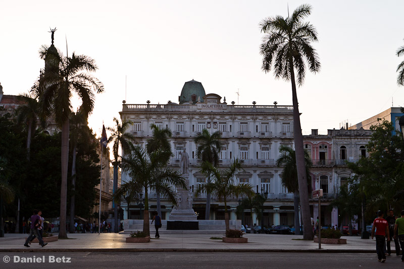 Parque Central mit der Statue von José Martís