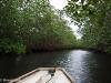 Mit dem Boot durch die Flusslaeufe