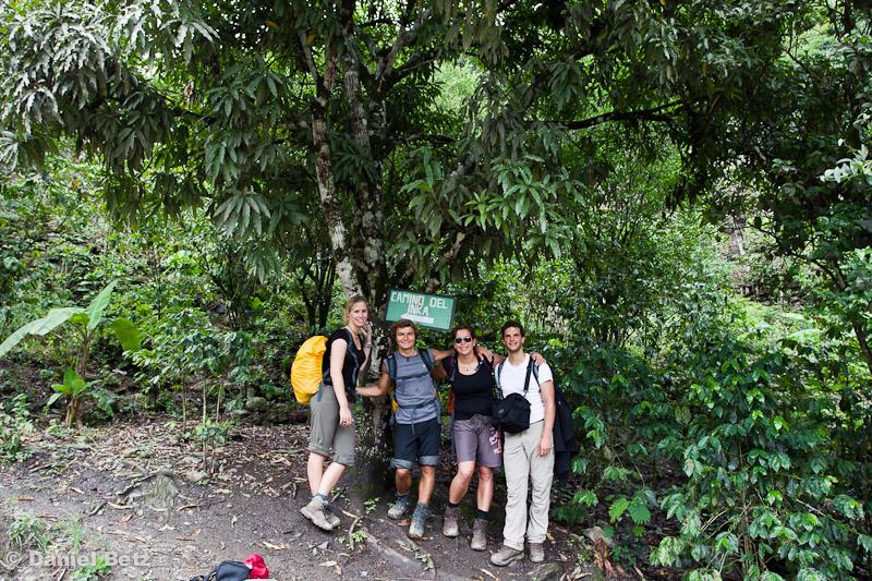 Ab auf den Inka Trail