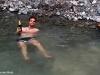 Gemütlicher Chill im warmen Thermalsee