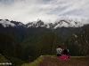 Die Berge rundherum sind eindrucksvoll