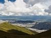 Grandioser Blick über Quito vom Rucu Pichincha