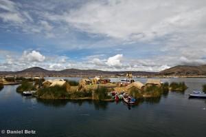 Die schwimmenden Urosinseln im Titicacasee